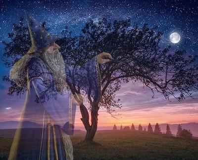Merlin Creating Balance Full Moon Workshop