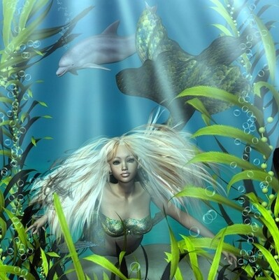 Lemurian Mermaid and Dolphin Healing Workshop