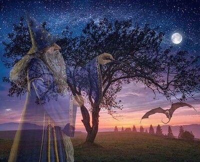Merlin and The Dragons Full Moon Workshop
