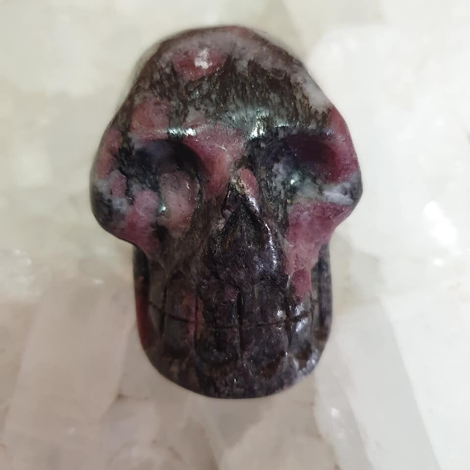 Spinel in Mica Crystal Skull