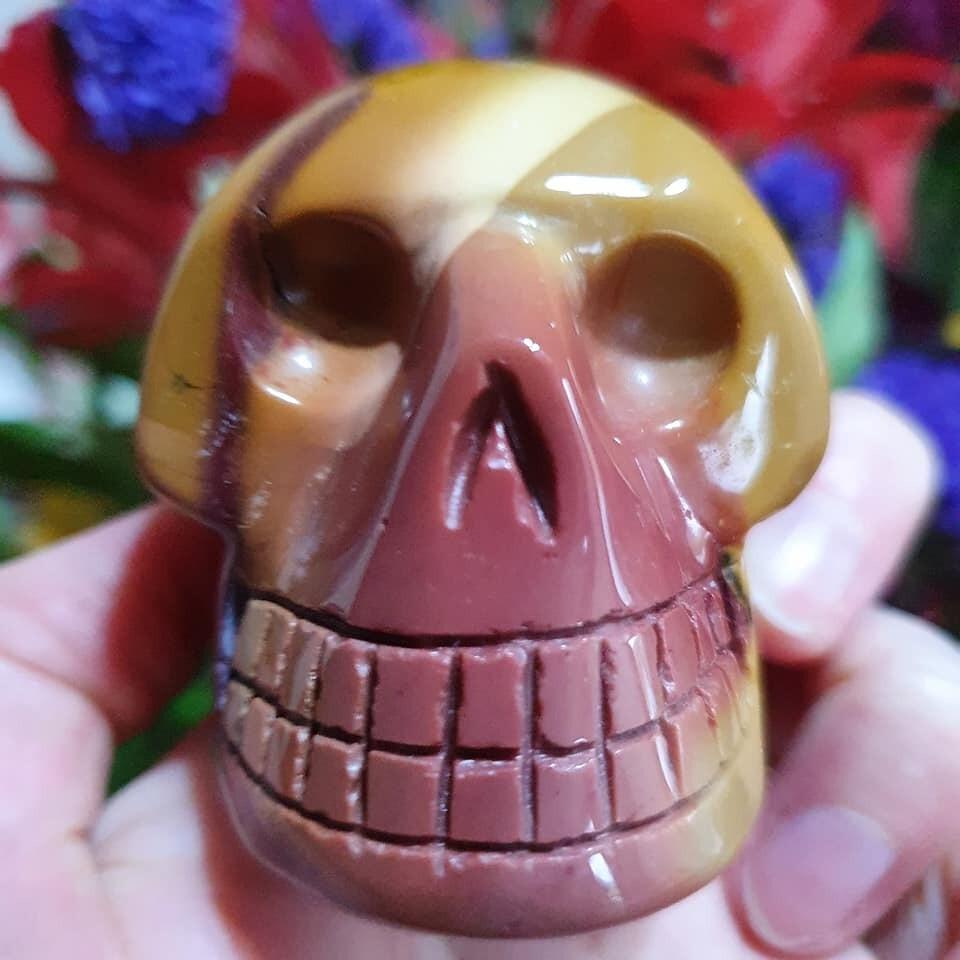 Mookite Crystal Skull