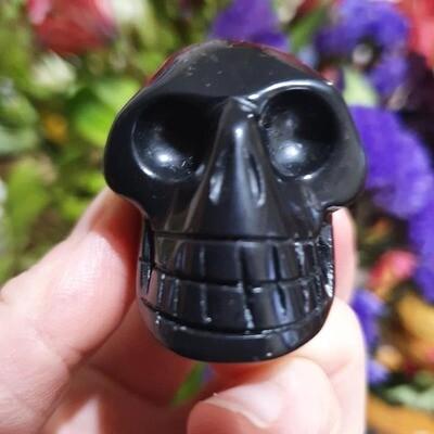 Shungite Crystal Skull