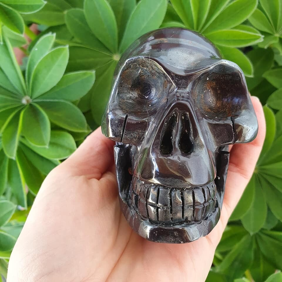 Ancestralite Crystal Skull