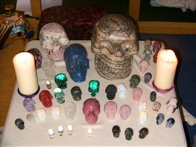 Crystal Skull Gathering Workshop