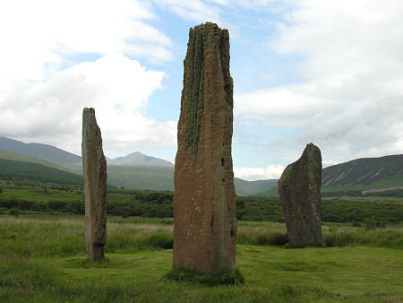 Machrie Stone Circle Summer Solstice