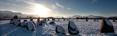 Castlerigg Stone Circle Winter Solstice