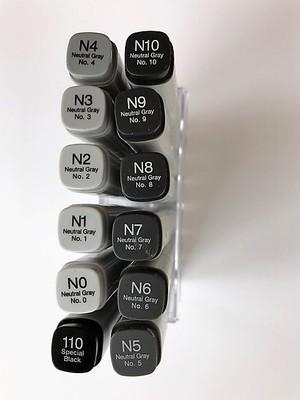 Dans Copic Classic Neutral Grey 12 Set