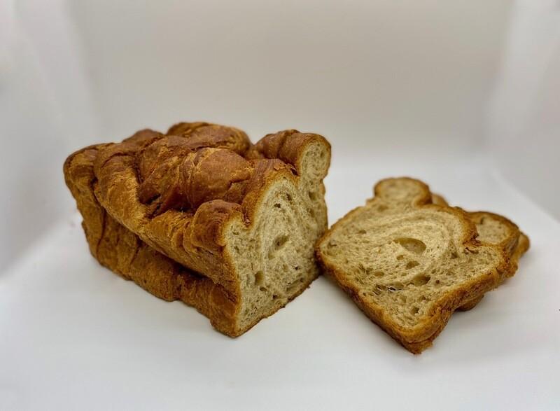 Cinnamon Croissant Bread