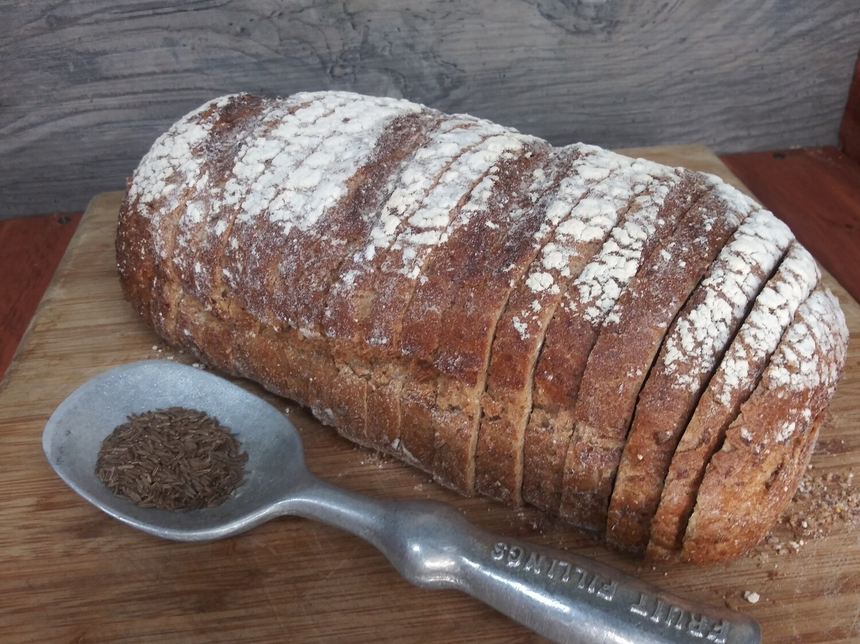 Dark Pumpernickel Bread