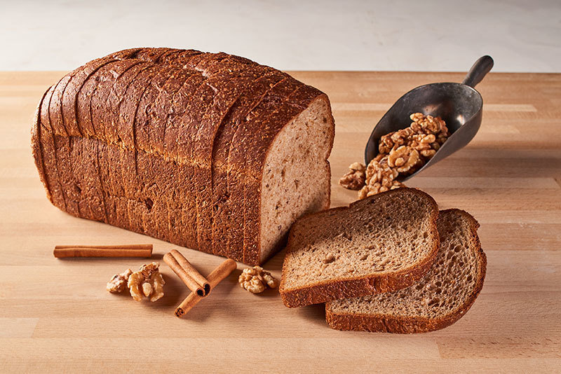 California Lifestyle Cinnamon Walnut Low Carb Bread
