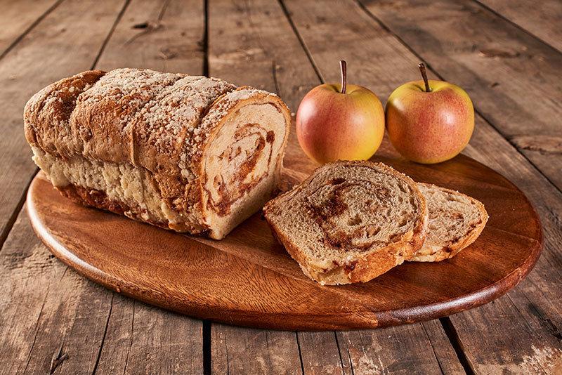 Cinnamon Apple Strudel Bread