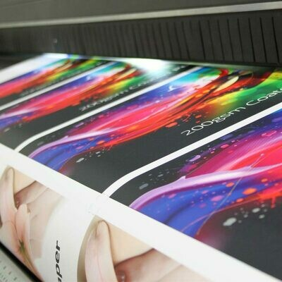 Colour Posters 60% or more ink coverage