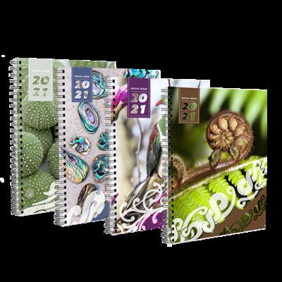 2021 Rātaka Māori (Diaries) - A4 Soft Cover