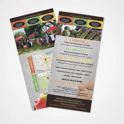 DL Marketing Cards (99 x 210mm)