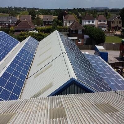50kW Commercial Solar Panel Kit