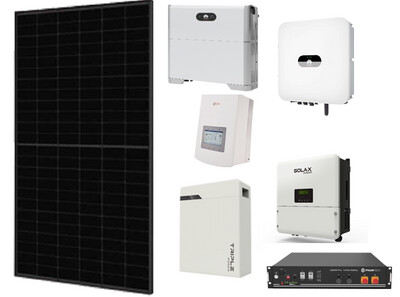 Solar Panel 6kW Kit with 10kWh Lithium Battery