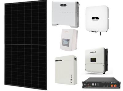 Solar Hybrid Kit 3.1kW with 5kWh Battery Storage