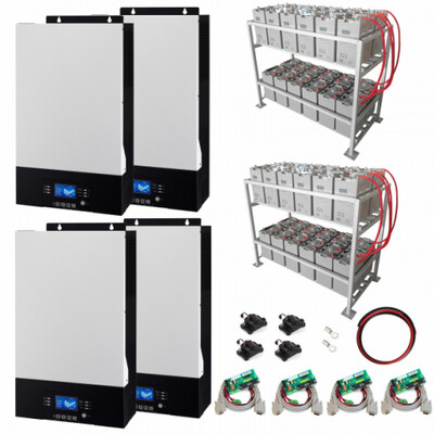 20kW Zero-Transfer Uninterrupted Power supply (UPS) System with 48kWh Energy Storage
