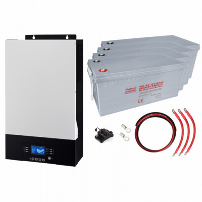 5kW Zero-Transfer Uninterrupted Power supply (UPS) System with 9.6kWh Energy Storage