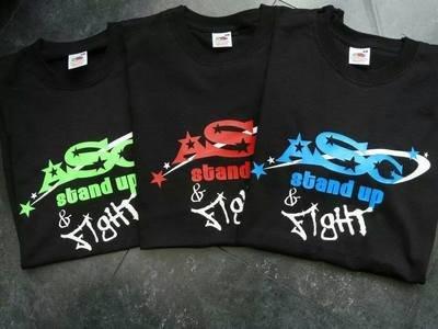 ASG Logo Neon Team Tshirts