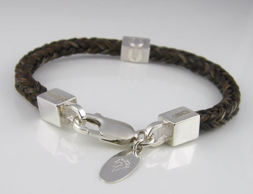 Classic Square Braided Stacking Bracelet