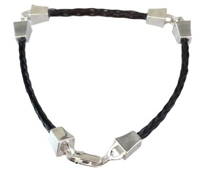 Farriers Nails - 3 part fine bracelet