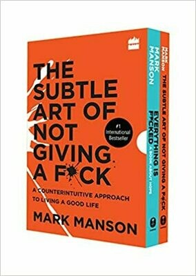 Mark Manson Boxset (Everything is F*cked + Subtle Art of Not Giving a F*ck)
