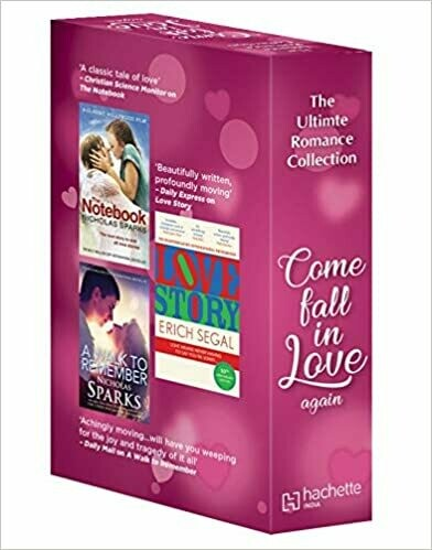The Ultimate Romance Collection: Come Fall in Love Again (Love Story + The Notebook + A Walk to Remember)