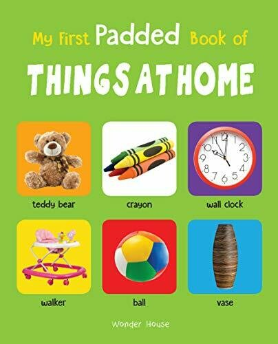 My First Padded Books of Things at home
