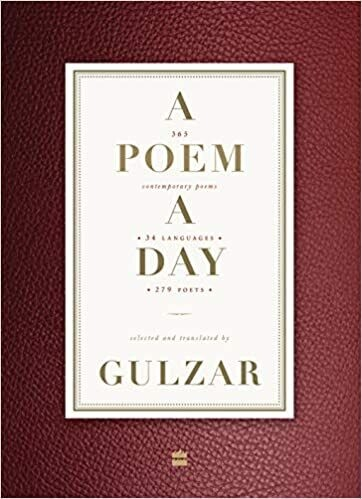A Poem a Day: 365 Contemporary Poems 34 Languages 279 Poets
