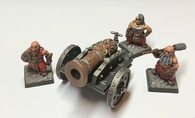 Dwarf Shrapnel Cannon