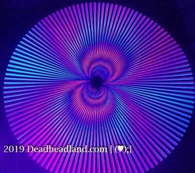 MINI ZONK (purple) | ©Vintage SCREENPRINT U.S.A. Black Light Poster