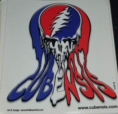 CUBENSIS (melt) sticker