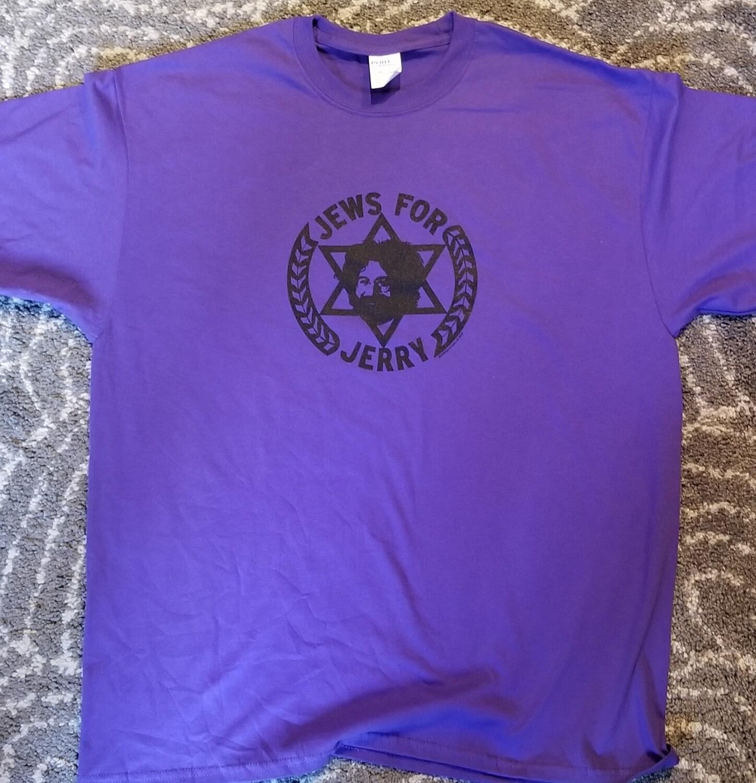 Jews For Jerry T-Shirt | ADULT | XL | PURPLE