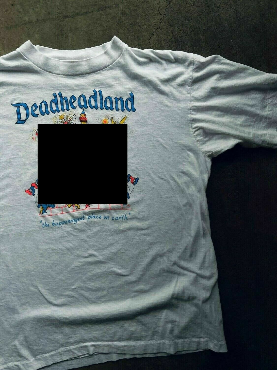 Tie Dyed Deadheadland T-shirt | April 2020 pre-order* | FREE SHIPPING