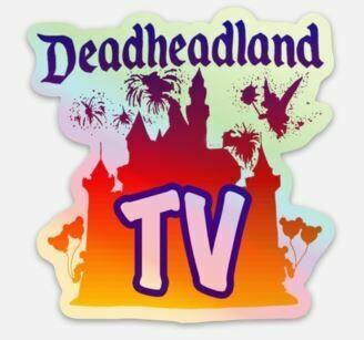 Deadheadland TV HOLOGRAPHIC STICKER