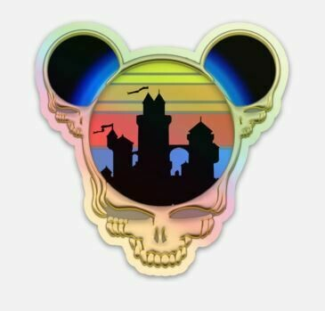 Steal Your Ears! Deadheadland 2020 HOLOGRAPHIC STICKER