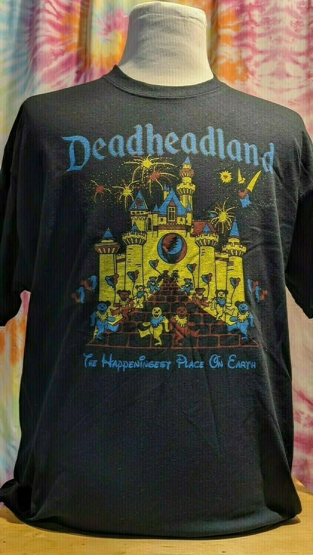 Deadheadland Classic T-shirt Black Ladies XL (Extra Large)