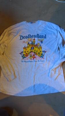 Long Sleeve Deadheadland t-shirt (classic)