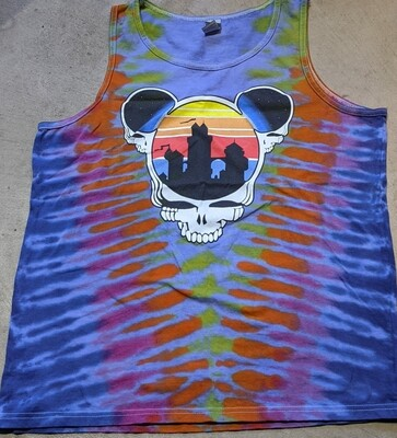 TANK TOP Adult XL Tie Dye (purple) Steal Your Ears T-Shirt