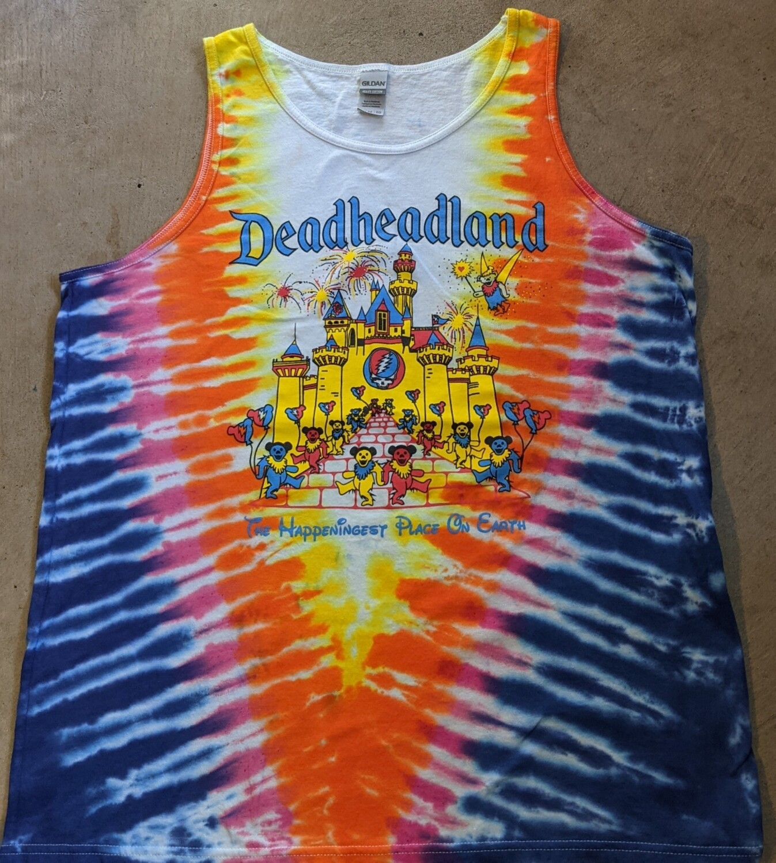 NEW Deadheadland Tie Dye Tank   May 2021 pre-order