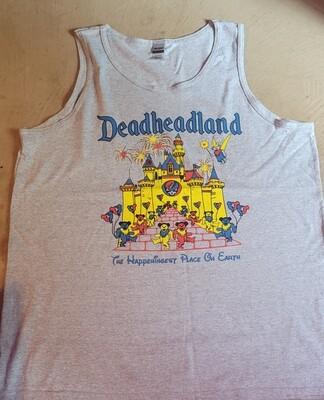 Tank Top (Grey or Black) Deadheadland   June 2021