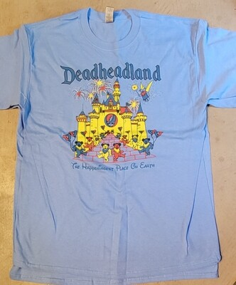 Color Deadheadland t-shirt (classic)    June 2021