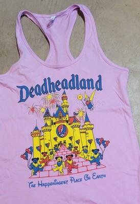 Ladies Racerback Tank Deadheadland Classic