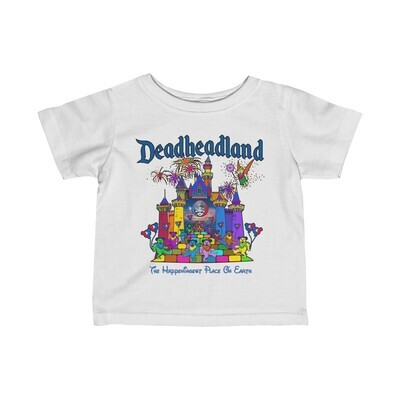 Infant T-shirt: Deadheadland Earth (light colors)