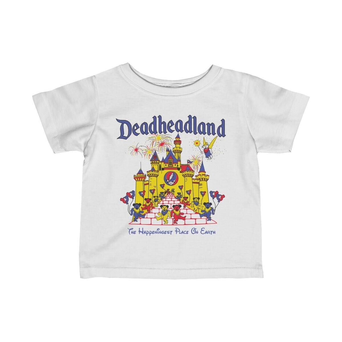 Infant T-shirt: Deadheadland CLASSIC (light colors)
