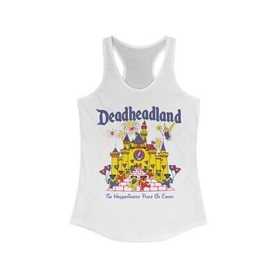 Ladies Racerback Tanks - Classic Deadheadland