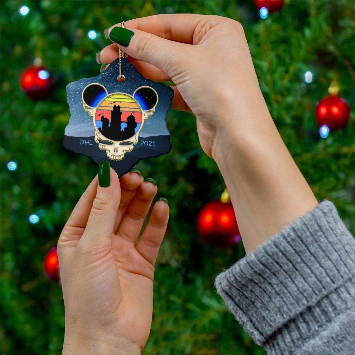 2021 Deadheadland Ornaments #3 -  DHL Ears Snowflake