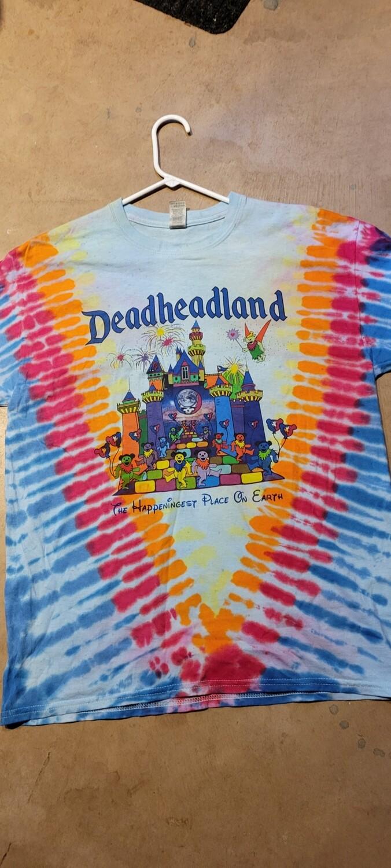 Deadheadland Earth Edition 2021 T-shirt TIE DYE (Fall 2021 Pre-order)