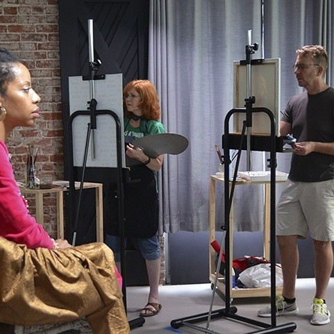 Painting the Portrait: 5-day Workshop, July 12-17, 2020